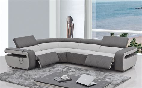 White Leather Recliner Sofa Set Home Decor Contemporary Reclining Sofa To Complete Living Room Sofa Set Black And White