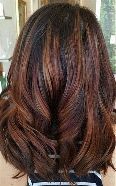 hair colors for brunettes stunning fall hair colors ideas for brunettes 2017 17