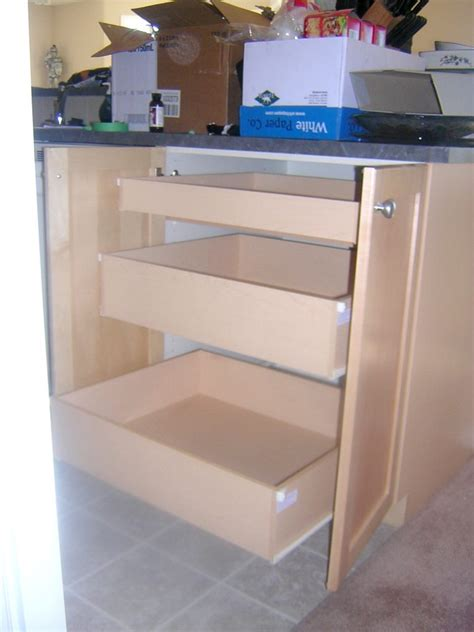 roll out cabinet drawers rollout drawers custom roll out drawers