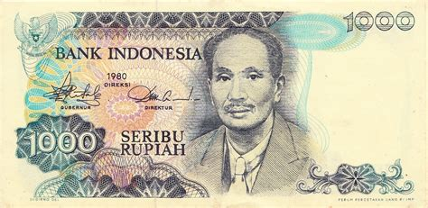 Uang Kertas Langka benda antik langka uang kertas kuno indonesia 1000