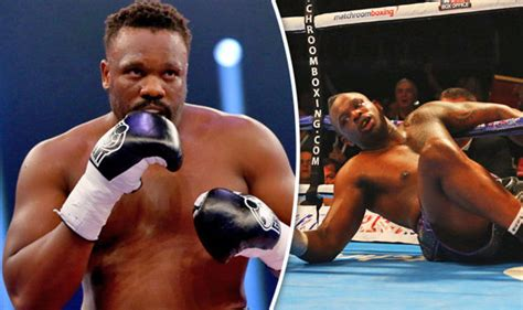dillian whyte what dereck chisora said to me after