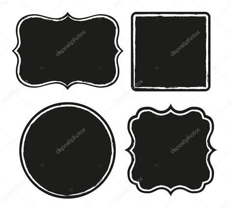 imagenes de negras para imprimir marcos negros archivo im 225 genes vectoriales 67806981