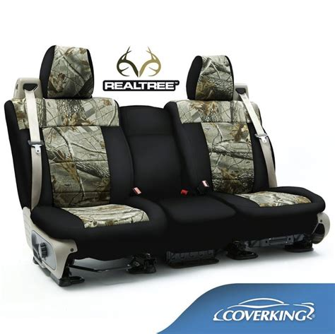 custom chevy truck seat covers coverking neosupreme realtree camo custom fit seat covers