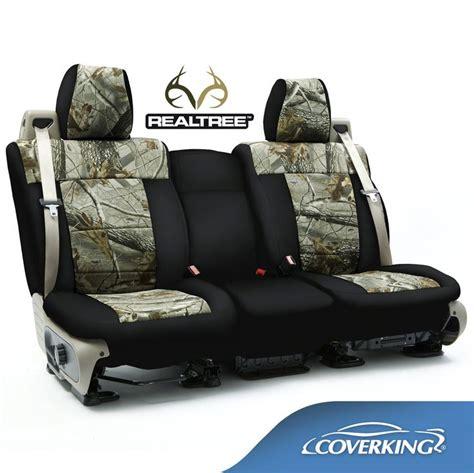 chevrolet silverado seat covers coverking neosupreme realtree camo custom fit seat covers