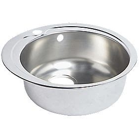 round kitchen sinks stainless steel round kitchen sink stainless steel 1 bowl 485 x 485mm