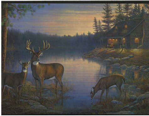 deer wallpaper border gallery