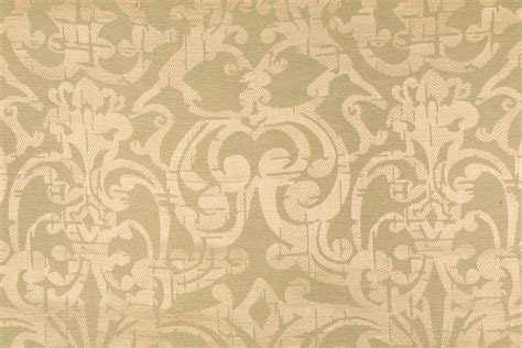 Linen Blend Upholstery Fabric by 7 8 Yards Beacon Hill Euonymus Linen Blend Damask
