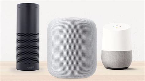 apple homepod vs echo vs home smart