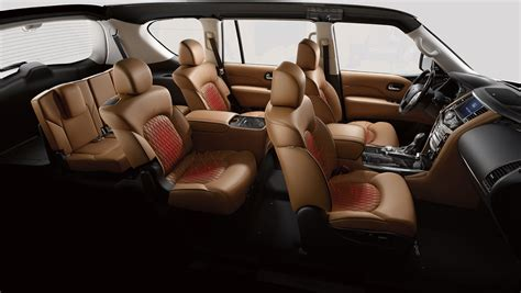 sewell infiniti qx80 infiniti qx80 interior otomobi