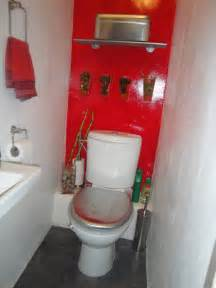 Powder Room Decoration - toiletzone la d 233 coration de vos toilettes style aquatic red