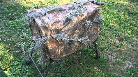 youtube layout boat hunting how to camo your layout boat or dog hunting blind youtube