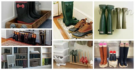 clever boots storage ideas   save