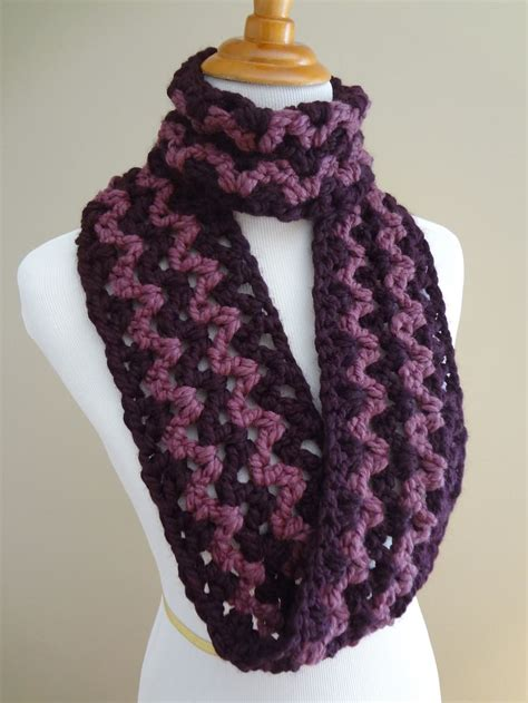 jennifer s scarf free crochet pattern from red heart yarns 29 best images about scarves on pinterest circle scarf