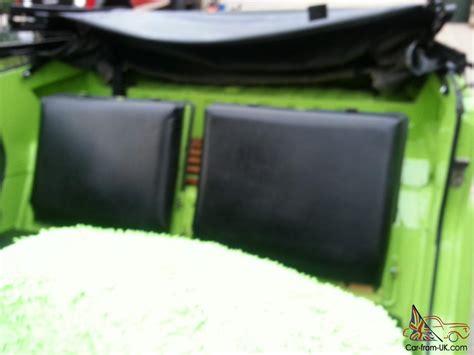 green paint sles vw thing headturner completley restored lamborghini green