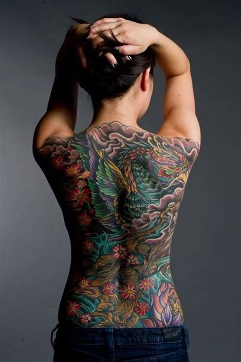 tattoo pictures for womens back 83 attractive back tattoo designs for women