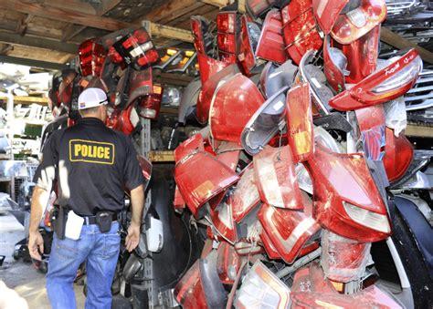 dmv investigators target unlicensed vehicle dismantlers