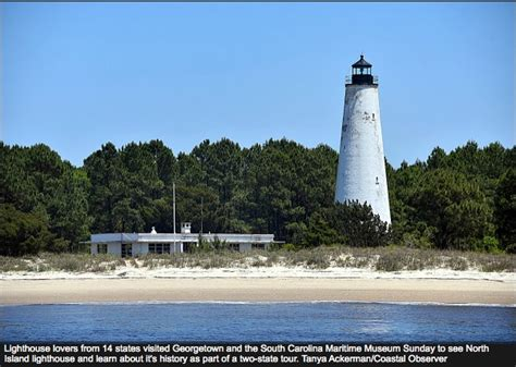 Georgetown Light by Lighthouse From 14 States Visited Georgetown