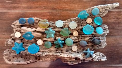 Sea Glass Cabinet Knobs by Sea Glass Knobs Cabinet Pulls Kitchen Bathroom By