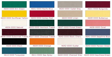 awning colours fabric choices southeast awnings
