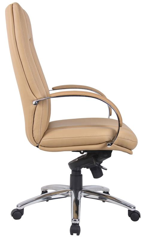 brown leather desk chair executive office chairs for office