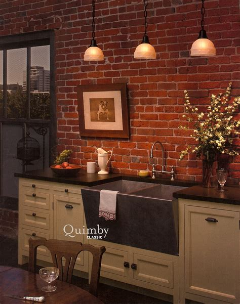 exposed brick wall lighting kitchen inspiration decor arts now