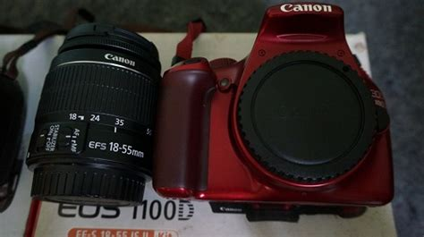 Kamera Dslr Canon Eos 1100d Kit 18 55mm jual kamera dslr canon eos 1100d kit 18 55mm fullset