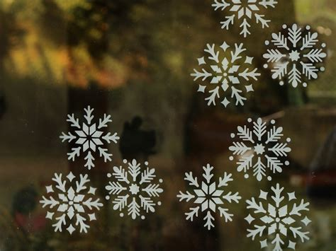 how to create snowflake window decals rustoleum spray paint