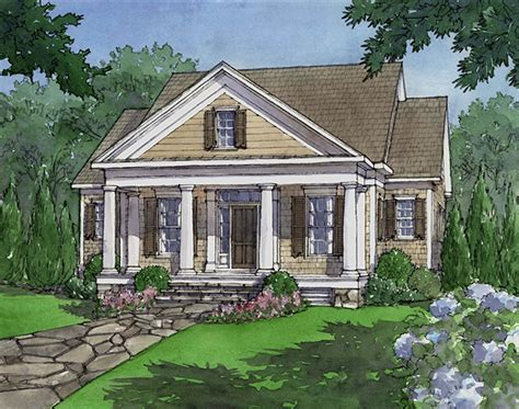 southern living house plans with porches house plan dewy rose sl1842 by southern living house