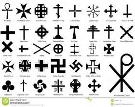 crosses illustration set royalty free stock images image 35551219