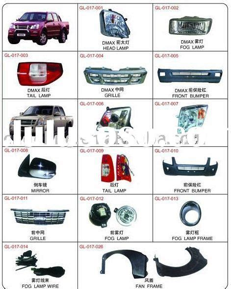 Parts For Isuzu Isuzu D Max Isuzu D Max Manufacturers In Lulusoso