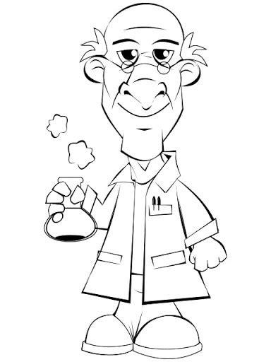 imagenes de quimica faciles para dibujar pintar dibujos de quimicos y cientificos