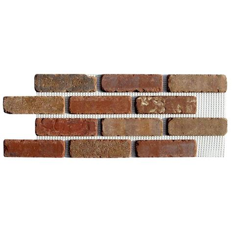 Home Depot Holiday Decorations by Shop Old Mill Thin Brick Systems Brickweb 10 5 In X 28 In