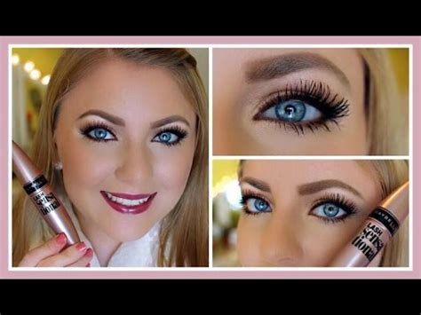 sensational videos review demo maybelline lash sensational mascara youtube