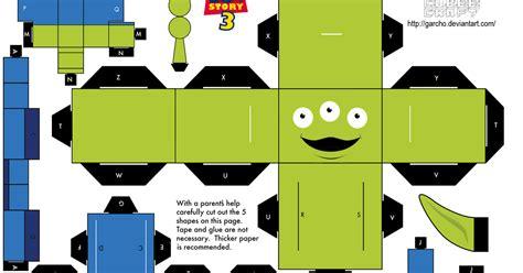 Cube Papercraft - story papercraft