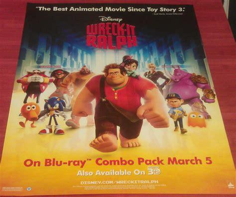 anthony daniels wreck it ralph 2 wreck it ralph dvd movie poster 1 sided original mini