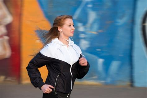 commercial girl running pretty girl running photo free download