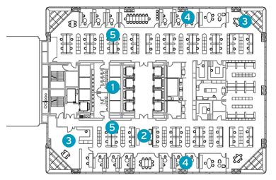 hearst tower floor plan the crystal method archpaper com