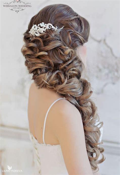 Wedding Hair Curls by Curls Wedding Hair The Magazine