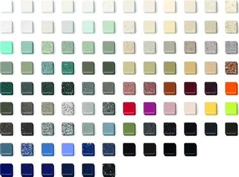 corian farbpalette corian countertop color chart pictures to pin on