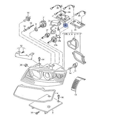 audi a4 b6 headlight wiring diagram wiring diagram