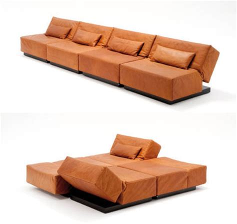 convertible ottoman modern convertible sofa from die collection tema the