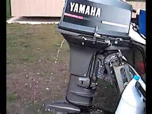 yamaha 40hp 2 stroke cold start youtube