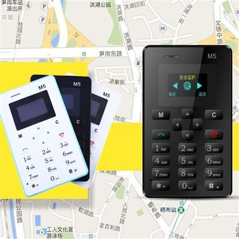 locate mobile phone slim m5 mini gsm locate children card cell mobile