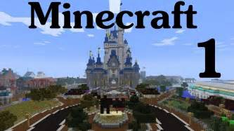 Minecraft Disney World Map by Minecraft Disney World Ep 1 Entering The Magic