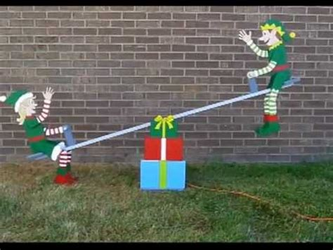Motorized Decorations by Teeter Totter Elves By The Winfield Collection
