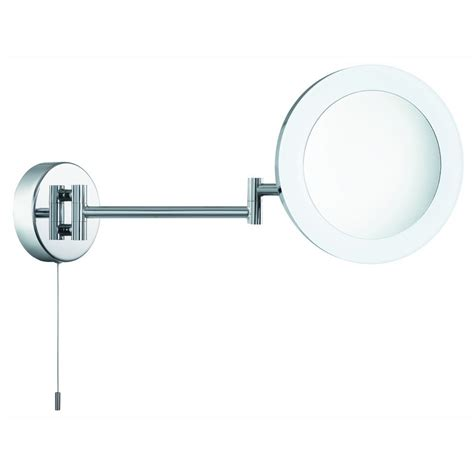 magnifying bathroom mirror searchlight 1456cc led magnifying x3 bathroom mirror