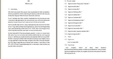 cara membuat jurnal makalah contoh makalah difteri corynebacterium diphtheriae