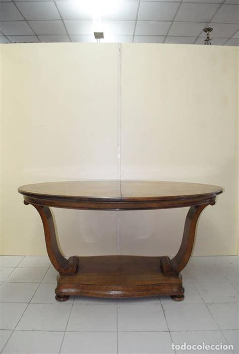 mesa antigua de comedor extensible de roble vendido en
