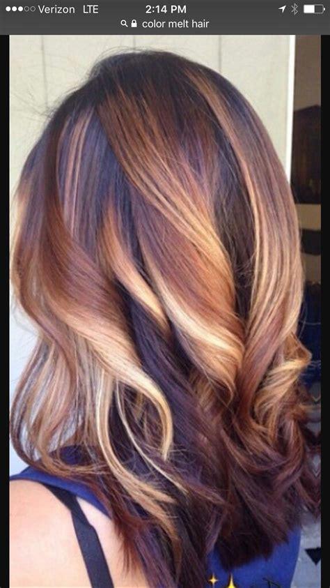 color melt hair styles color melt hair in 2018 hair hair styles