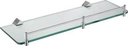glass shelves for bathrooms bathroom wallpaper begins at home loversiq